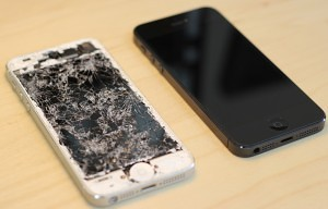iPhone 5 Repair before and after