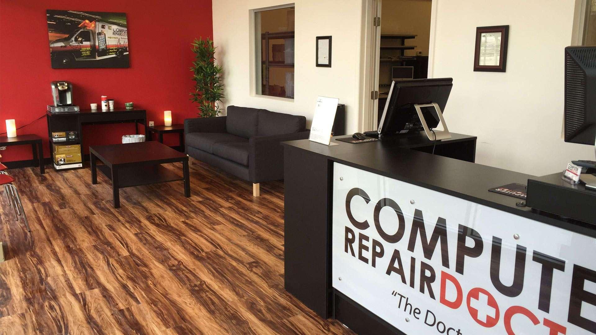 computer repair doctor lobby