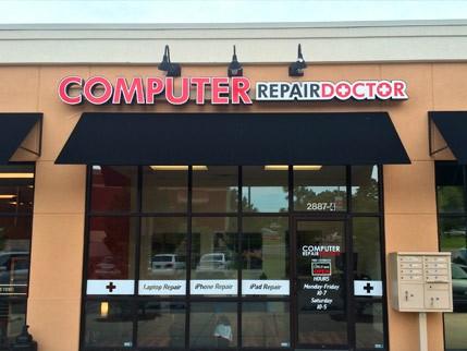 computer repair doctor store