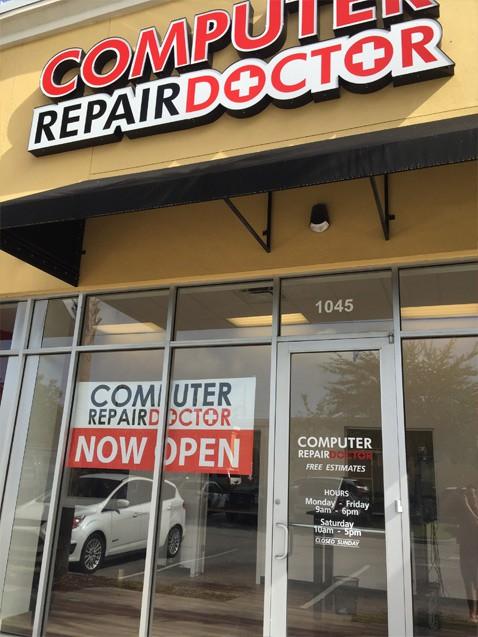computer repair doctor storefront