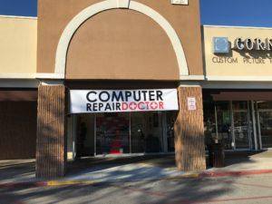 Computer Repair Doctor Winter Park Store Sign