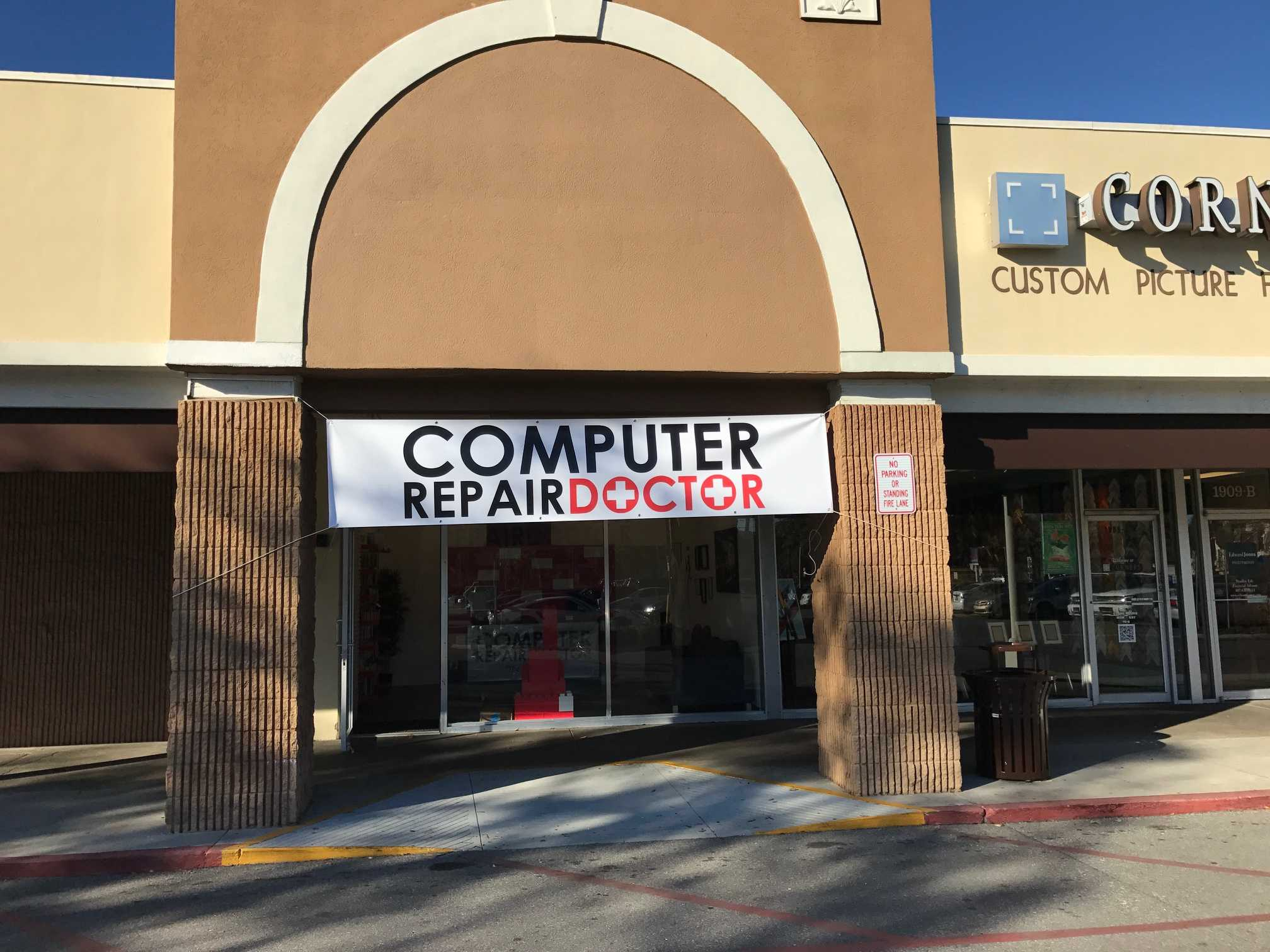 Computer Repair Doctor Winter Park Store Sign