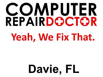 Computer Repair Doctor Davie FL