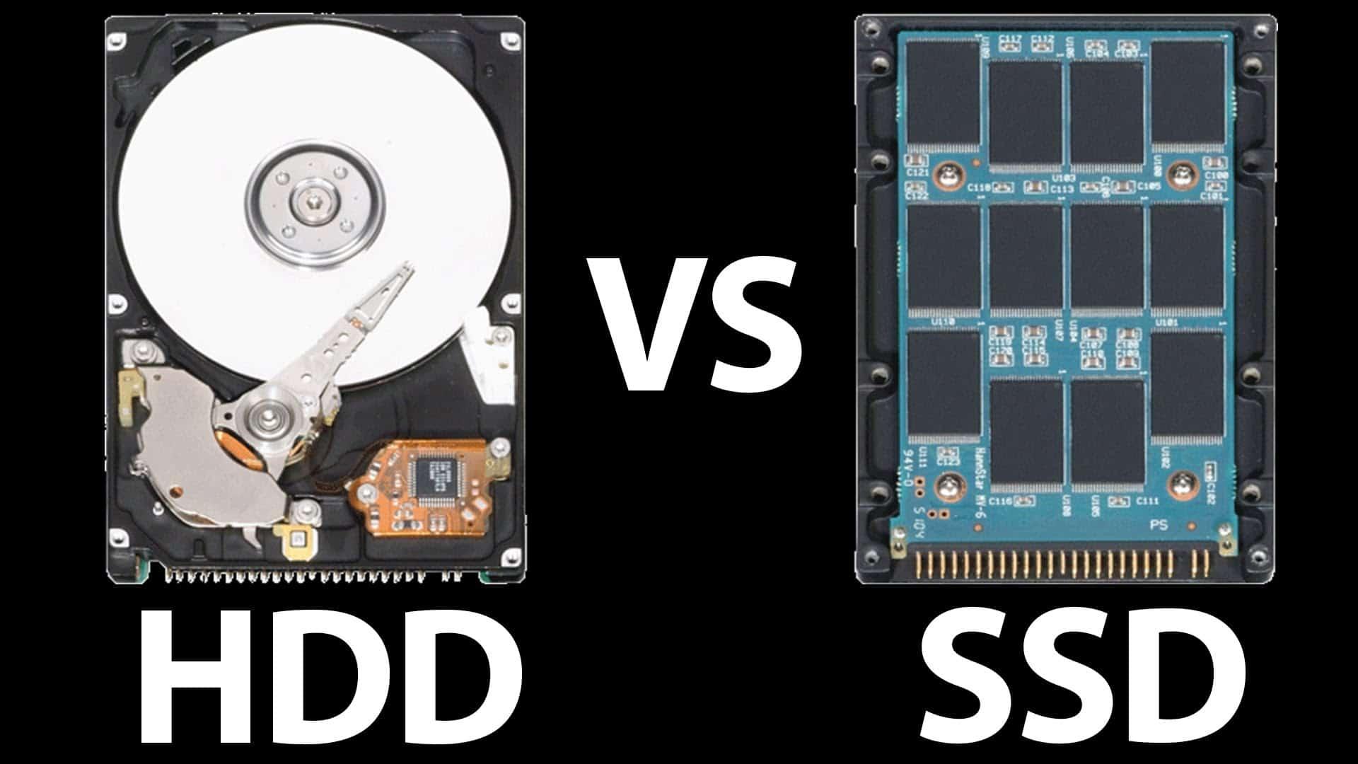 HDD v SSD